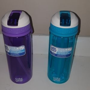 Cool gear BPA FREE set of 2 Water Bottle